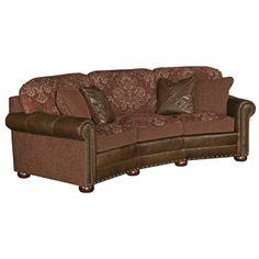 Rustic Living Curved Sofa - I likey