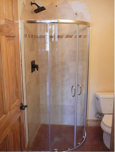 small corner shower kit. Corner Round Shower  no prefab kit Stall Units Enclosures Verona Circular