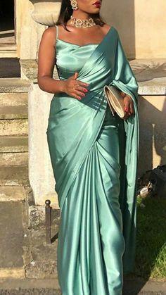 saree styles for farewell saree styles + saree styles for farewell + saree styles wedding + saree styles modern + saree styles for farewell teenagers + saree styles for farewell modern + saree styles classy + saree styles for farewell classy Indian Fashion Dresses, Dress Indian Style, Indian Designer Outfits, Indian Fashion Modern, Indian Fashion Trends, Indian Outfits Modern, Indian Look, Fashion Outfits, Sari Dress