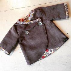 I've made another doll coat, for a customer #waldorfdolls #waldorfdoll #dollclothes