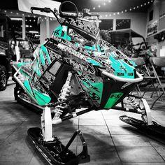 Image gallery for our Polaris Rush and ProRMK model sled wraps. Snow Toys, Polaris Snowmobile, Snow Machine, Liberty Walk, Snow Fun, Riding Gear, Dirtbikes, Winter Sports, Sled