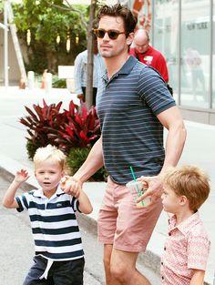 73 Best Matt Bomer And His Family Images Matt Bomer White Collar