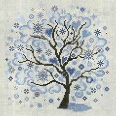 VK is the largest European social network with more than 100 million active users. Celtic Cross Stitch, Cross Stitch Tree, Cross Stitch Flowers, Cross Stitch Charts, Wedding Cross Stitch Patterns, Modern Cross Stitch Patterns, Cross Stitch Designs, Cross Stitching, Cross Stitch Embroidery