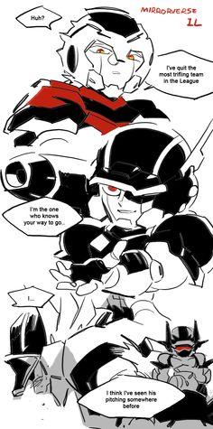 Mirrorverse Iron Leaguer 04.