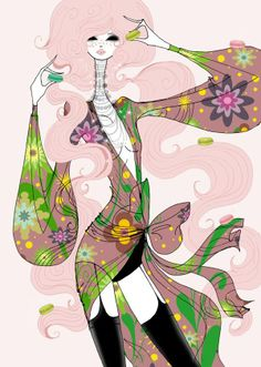 Spring 2014 by Sonia Menti, via Behance