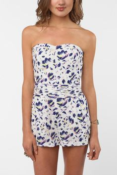 Printed Romper from UO.