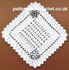 Pretty Doily Free Crochet Pattern from Patterns for Crochet