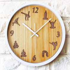 yoga style large decorative wall clock price u0026 free shipping
