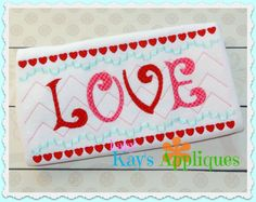Baby Kay's Appliques - LOVE Faux Smock 4x4, 7x3, 7x5, $1.00 (http://www.babykaysappliques.com/love-faux-smock-4x4-7x3-7x5/)