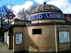 Clapham Common Underground station in south London