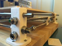 3dpBurner. 3D printed laser cutter/engraver by paulpangrazzi