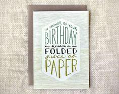 birthday card - Amanda Wright of Wit & Whistle