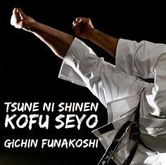 Denke immer nach und versuche dich ständig an Neuem Gichin Funakoshi #karate #karatedo #shotokan #schwarzgurt #dan #meistergrad #meister #budo #budoka #kuroobi #blackbelt #kick #uraken #yokogeri #ausschnitt #detail www.taikikan.de http://ift.tt/1NFeDkK
