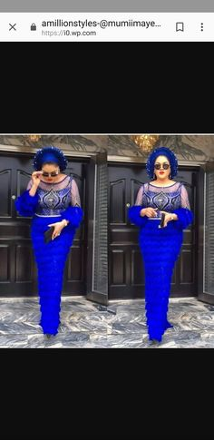 Coming in at numero uno is she not ? Jewel of the continent this ! Nigerian Lace Styles, African Lace Styles, African Lace Dresses, African Wedding Dress, Latest African Fashion Dresses, African Print Fashion, Africa Fashion, African Attire, African Wear