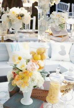 Milk Glass at Weddings, Great article with superb photos! ~ Mary Walds Place - Vintage Wedding Trend: Milk Glass Wedding Decorations