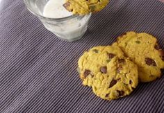 Healthy Pumpkin Chocolate Chip Cookies Recipe - coconut flour - can subs cranberries