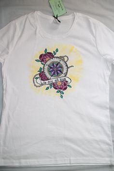 """Tricou """"Lost"""" Lost, Mens Tops, T Shirt, Fashion, Supreme T Shirt, Moda, Tee, Fashion Styles, T Shirts"""