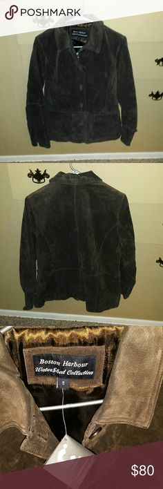 Boston harbour leather jacket  nwt! ! ! Boston harbour leather jacket. It is new with tags. Size small Boston harbour  Jackets & Coats