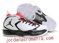 Acheter Chaussures Air Jordan 2012 Q Blanc/Noir-Red Rouge  JordanAeroMania.com