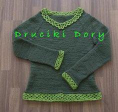jumper / sweter / knitting / druty / Druciki Dory