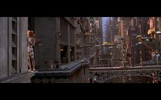 Future Cities in movies. The Fifth Element