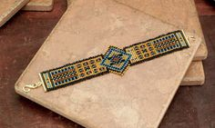 BRACELET Ethnic Tribal Woven Seed Bead Bracelet  by TealEves, $75.00