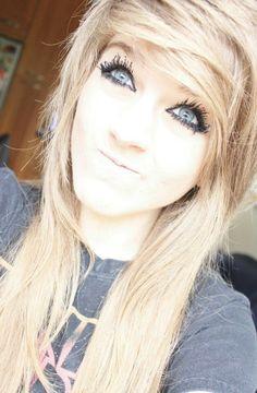 Blonde blue eyes marina joyce