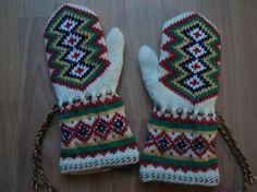 Sami mittens Knitted Gloves, Crochet Accessories, Mittens, Knit Crochet, Knitting, Google, Design, Tricot, Fingerless Mittens