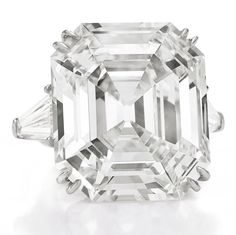 """MAGNIFICENT, 33.19 carat Asscher cut, """"Elizabeth Taylor Diamond"""", previously know as the """"Krupp diamond"""". Elizabeth Taylor's favorite diamond, she wore it everyday. """"When I look into it, the deep Asscher cuts—which are so complete and ravishing—are like steps that lead into eternity and beyond,"""" said Taylor."""