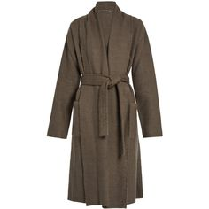 Denis Colomb Raw-edge cashmere and camel-blend coat (€3.375) ❤ liked on Polyvore featuring outerwear, coats, grey, denis colomb, camel cashmere coat, grey coat, wool cashmere coat and gray coat