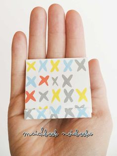 Matchbook Notebooks are adorable and easy to make with this trick from www.nelliebellie.com
