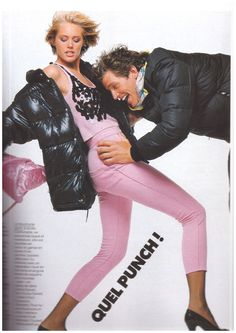Model : Ashley Richardson Stylist : Carlyne Cerf de Dudzeele Photo :Bill King, Elle France, 1984