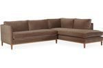 Lee Industries - Sectional Series 3583-Series SECTIONAL SERIES OVERALL  	W0	D0	H35   SEAT HT  	19 ARM HT  	30 BACK RAIL HT  	30