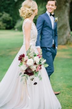Dare I admit that Marsalais thebest thing to happen to our 2015 color palette? I do, I most certainly do, and if this pretty fromSuzanne Li Photographyisn't proof thenI don't know what is. Bursting with berry hues and color, this littleinspo