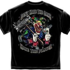 """$16.95 """"Ace Cracker"""" poker t-shirt"""