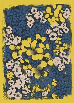 54 New ideas wallpaper watercolor flowers print patterns Motifs Textiles, Textile Patterns, Textile Prints, Flower Patterns, Print Patterns, Watercolor Pattern, Watercolor Flowers, Motif Floral, Floral Print Design