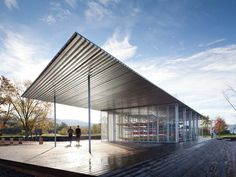 Boat Pavilion for Long Dock Park; Beacon, New York / Architecture Research Office (ARO)