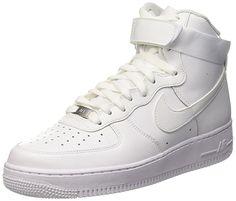 947b2824ff Amazon  NIKE Air Force 1 High 07 Men s Basketball Shoes Co... Zapatillas