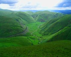 Scotland Lush and Green Hills!