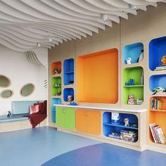 NSLIJ Steven and Alexandra Cohen Children's Medical Center of New York  Interior Design by Rockwell Group Architect:  MorrisSwitzer~Environments for Health www.MorrisSwitzer.com