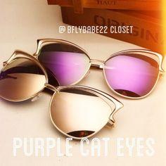 NWT PURPLE LENS CAT EYE SUNGLASSES NWT PURPLE LENS CAT EYE SUNGLASSES Accessories Glasses