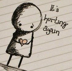 It is hurting so badly!! Please let me make it stop!