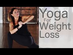 Yoga for Weight Loss with Lesley Fightmaster - YouTube (37 min.)