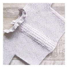 Knitted sweater by I Love Tricoté #babyknits