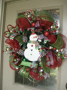 Image detail for -christmas mesh wreath tutorial repinned from craft ideas by brittany ...