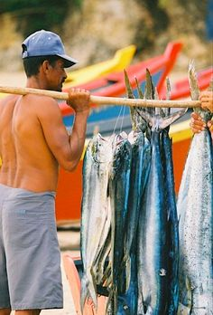 Fisherman - Aguadilla - Puerto Rico.