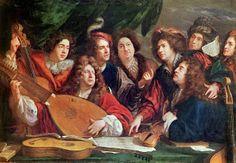 Réunion de musiciens (François Puget, 1688)