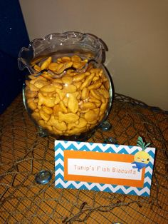 Octonauts party! {Tunip's Fish Biscuits}
