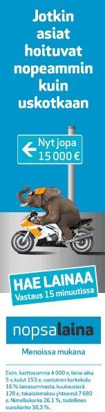 Hae meiltä markkinoiden halvin pikavippi heti tilillesi - hae pikavipit 50-5000 euron väliltä. Vippi tilille vain 15 minuutissa!