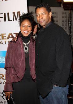 Denzel Washington  Paulette Washington- 29 years